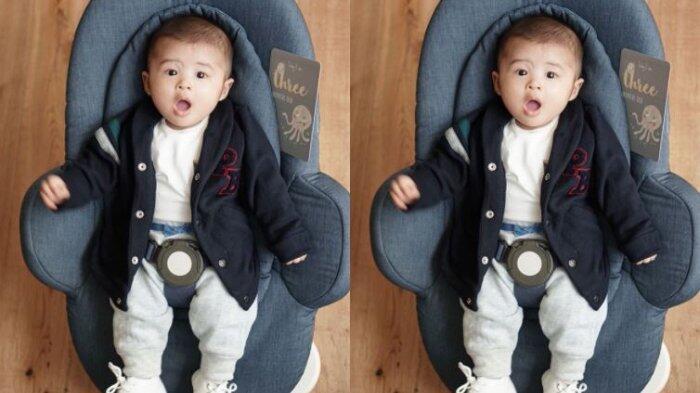 Baby Raphael Moeis, Jadi Spiderman Ngeces, Ganteng Seperti Papanya