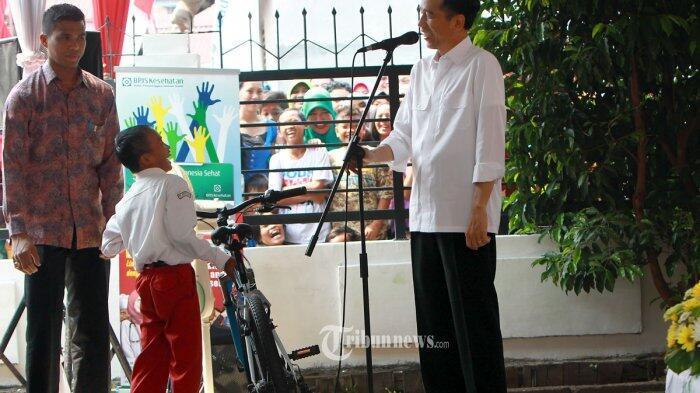Dilarang Bagi-bagi Sepeda, Jokowi Akan Patuhi Aturan Bawaslu