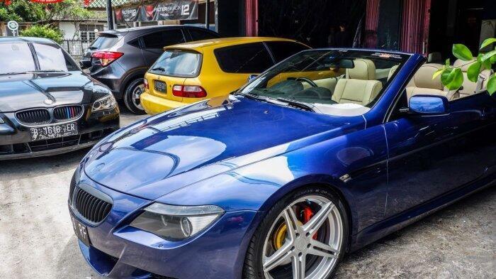 Habiskan Uang Modifikasi Rp 100 Juta, Begini Penampakan Gagah BMW Seri 6