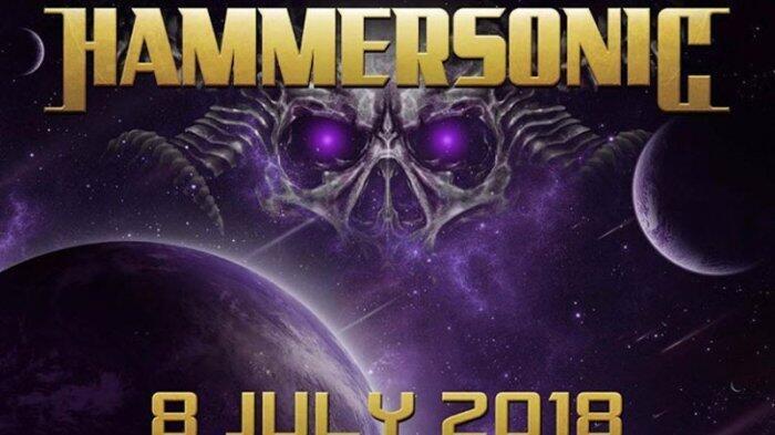 Hammersonic Festival 2018 Bakal 'Guncang' Jakarta, Catat Tanggal Mainnya