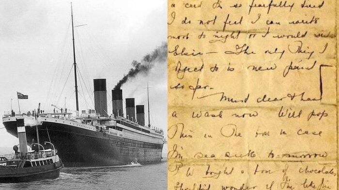 Surat Penumpang Selamat Titanic Ungkap Sisi Gelap di Atas Kapal 'Terkutuk'