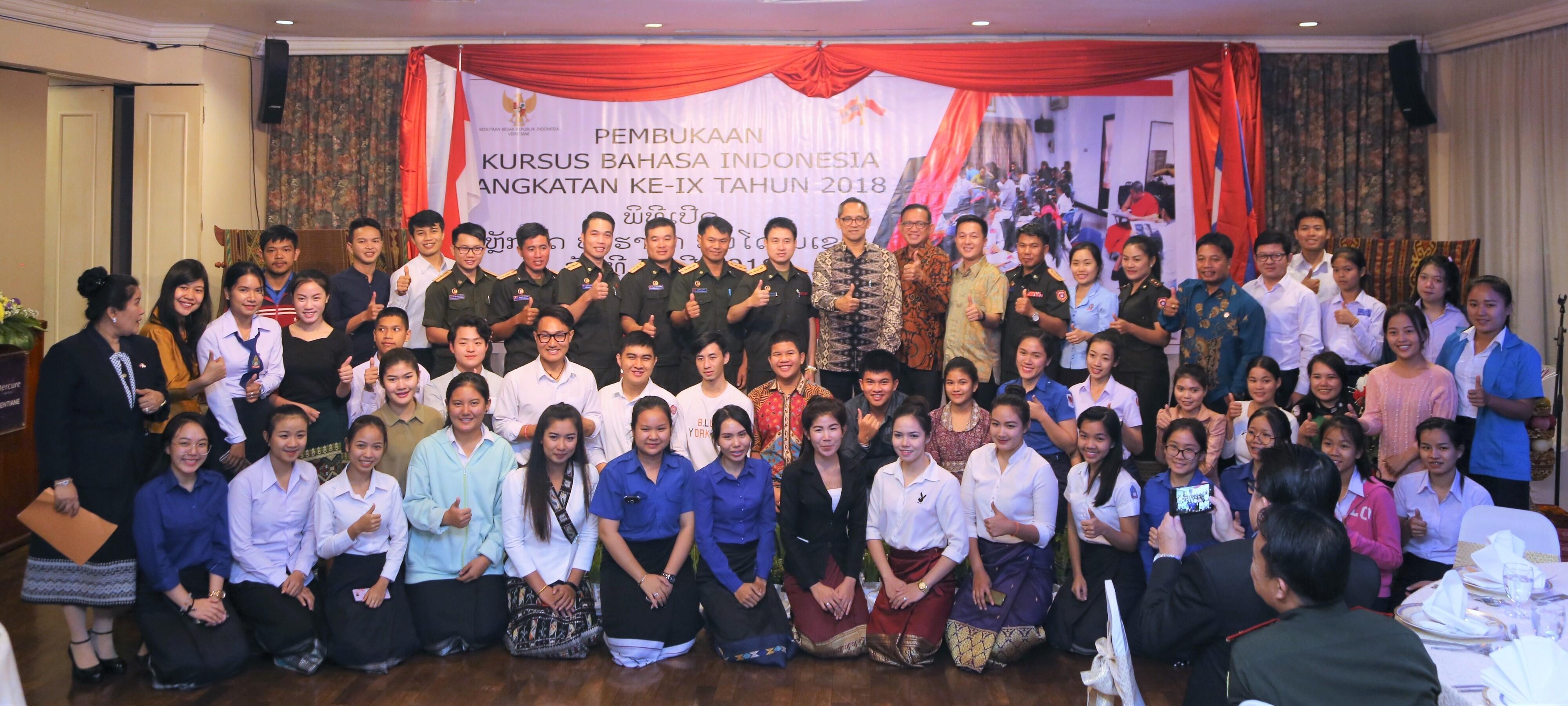 Tingginya Animo Masyarakat Laos untuk Belajar Bahasa Indonesia