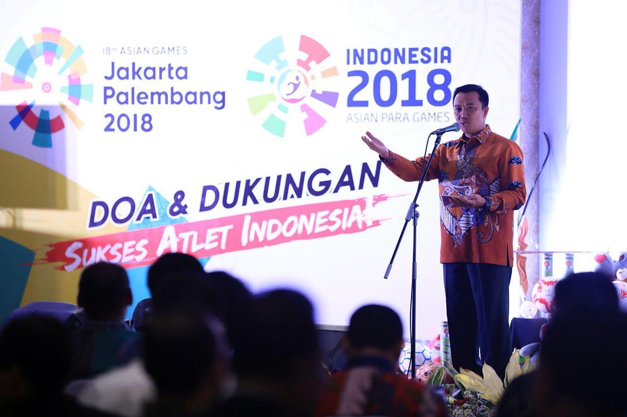 Gaungkan Asian Games dan Paragames 2018, Menpora Gelar Gowes Bersama