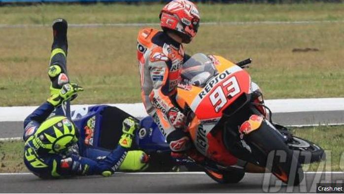 5 Perseteruan Rossi di MotoGP yang Paling Diingat