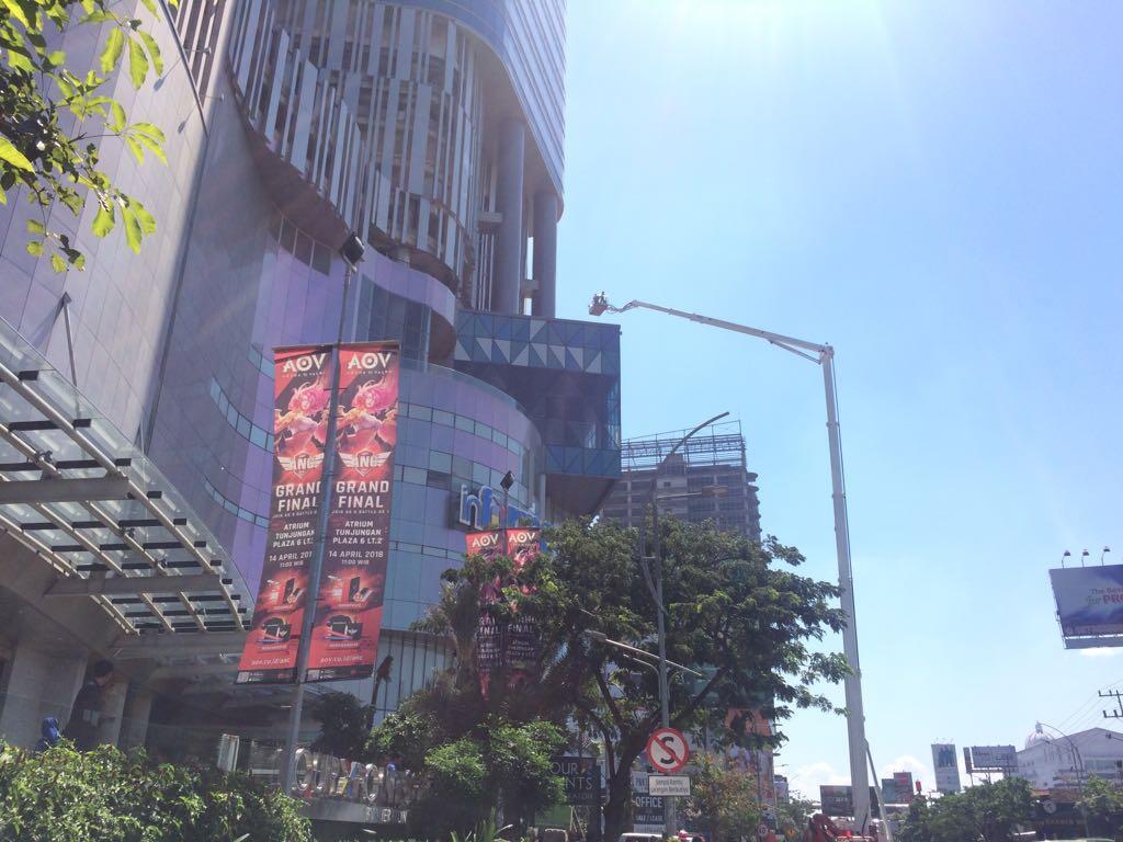Tunjungan Plaza Surabaya Kebakaran