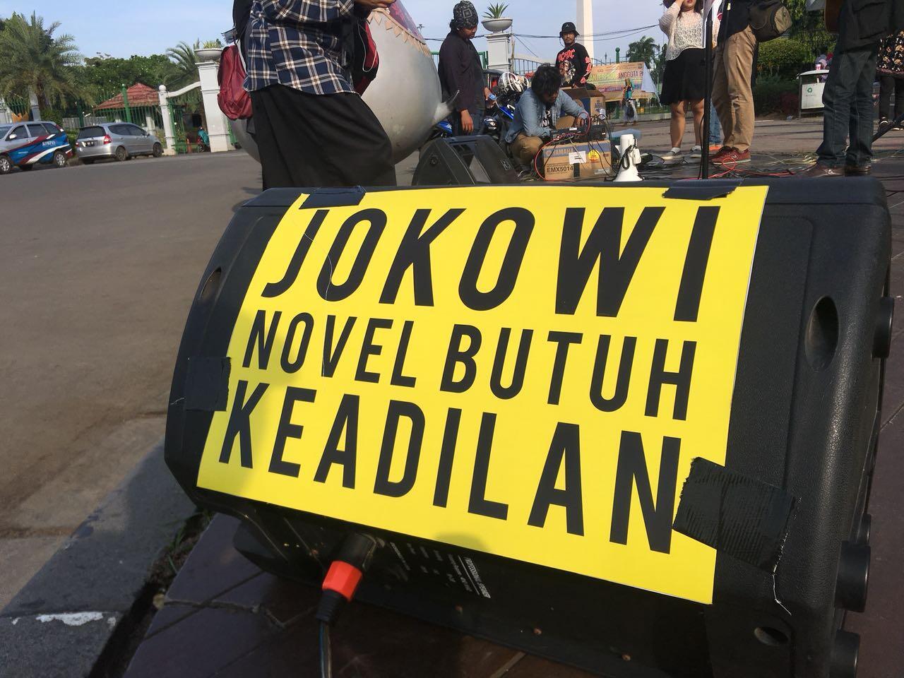 Satu Tahun Kasus Novel Baswedan, Jokowi Diminta Bentuk TGPF