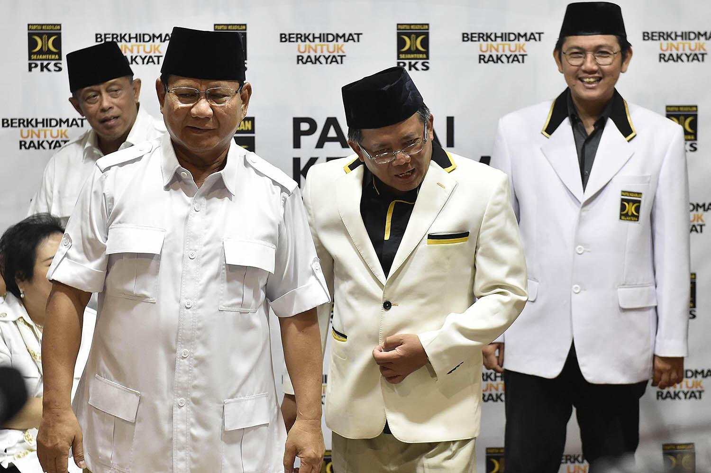 Ini Kriteria Calon Pendamping Prabowo untuk Pilpres 2019