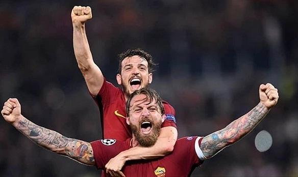 Singkirkan Barcelona, AS Roma Mengajarkan Kita Agar Jangan Pernah Menyerah