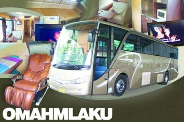 Bagaikan Rumah Berjalan! Bus Indonesia dengan Desain Mewah Layaknya Hotel
