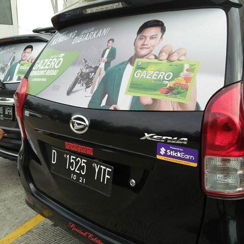 (FIND) Vendor Pemasangan Stiker Untuk Branding Mobil