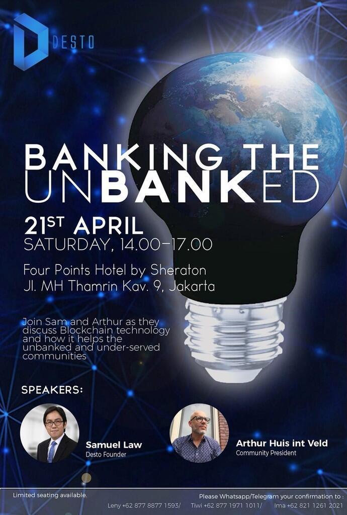 Seminar gratis untuk para pemula di dunia cryptocurrency
