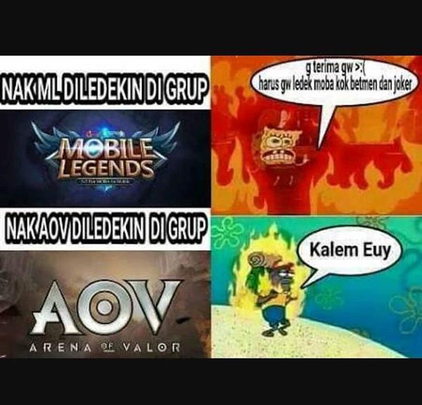 Kumpulan Meme Arena of Valor yang kocak abis