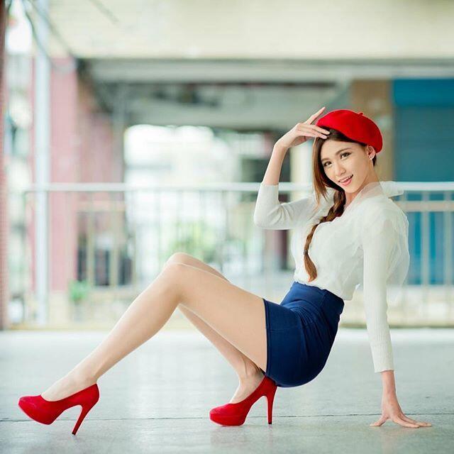 Netizen Tergila-gila Oleh Cendice Model Asal Taiwan yang Punya Kaki Indah