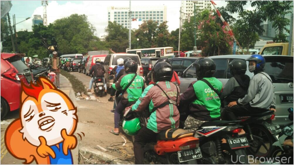 ( HOT ) Jalan Cideng Tanah Abang MaCet PKL Menggila