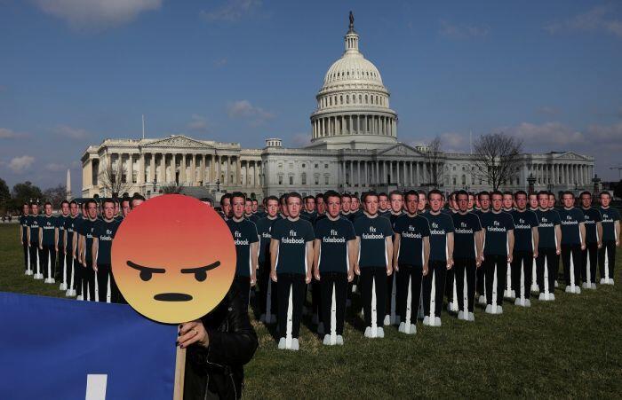 Zuckerberg bungkam ihwal pemanfaatan data pengguna