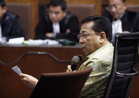 Saksi Sebut Hasil Visum Novanto Janggal