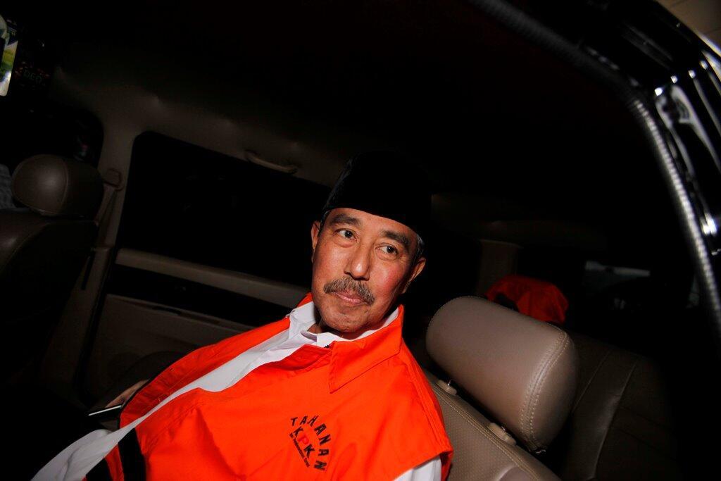 KPK Jebloskan Bupati Bandung Barat ke Bui