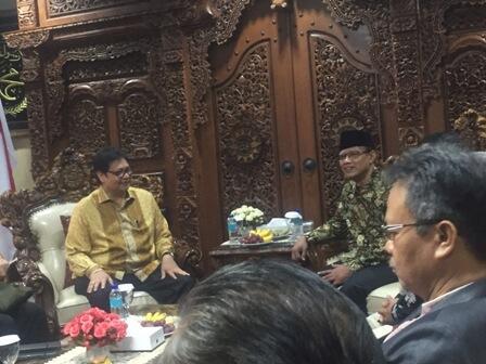 Ketum Golkar Sowan ke Muhammadiyah