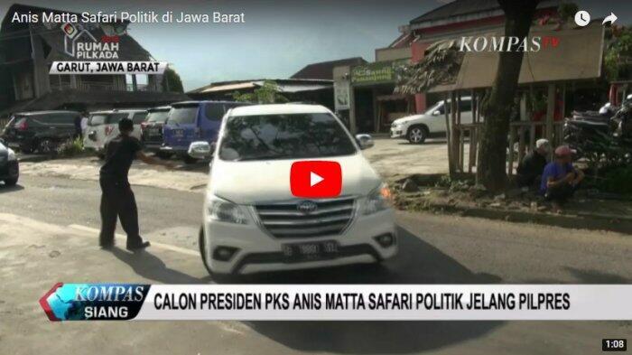 Bakal Capres PKS Anis Matta Safari Politik di Jawa Barat