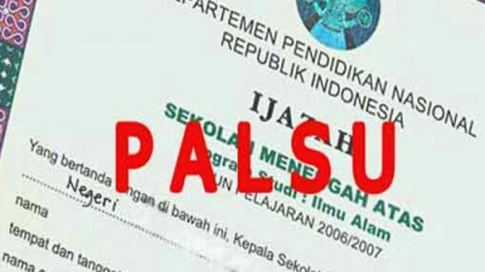 Waspadai Ijazah Palsu Calon Anggota Legislatif