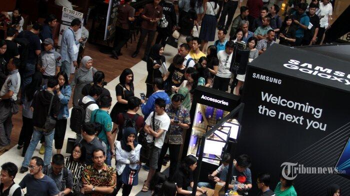 Rata-rata Pusat Perbelanjaan Disesaki sampai 30 Ribu Orang/Hari