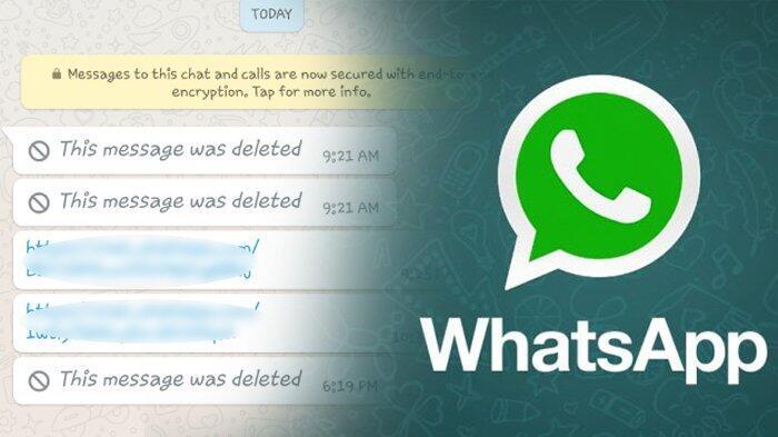 Trik Mudah Lacak Isi Pesan WhatsApp yang Baru Saja di Delete, Coba Deh!
