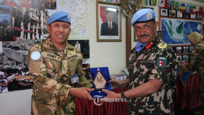 Jenderal Unifil Kunjungi Pos-Pos Satgas Indobatt di Lebanon