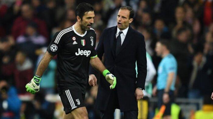 Real Madrid vs Juventus: Massimiliano Allegri bilang Penalti itu Masih Abu-abu