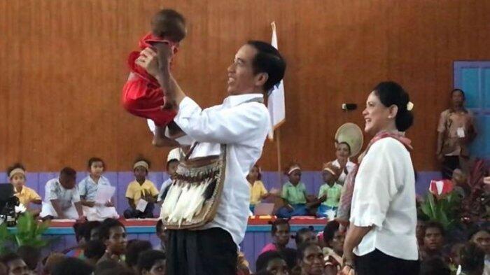 'Ini Jokowi, Bapa'