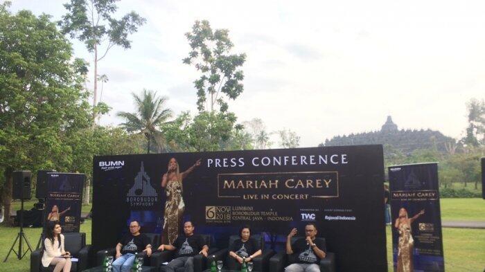 Konser Mariah Carey di Candi Borobudur Bakal Megah