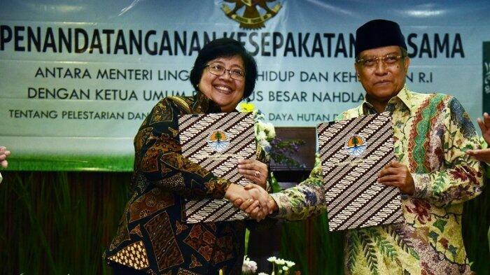 KLHK-PBNU Kerja Sama Pelestarian dan Pemanfaatan Sumber Daya Hutan dan Lingkungan