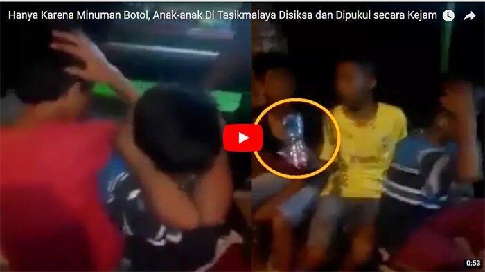 Hanya Karena Minuman Botol, Anak-anak di Tasikmalaya Disiksa dan Dipukul secara Kejam