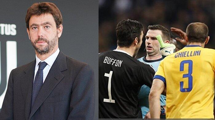 Presiden Juventus Andrea Agnelli: Kita Butuh Adanya VAR di Liga Champions!