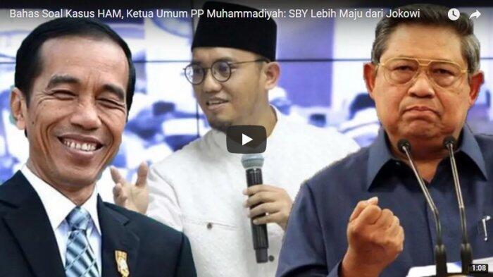 Bahas Soal Kasus HAM, Ketua Umum PP Muhammadiyah: SBY Lebih Maju dari Jokowi
