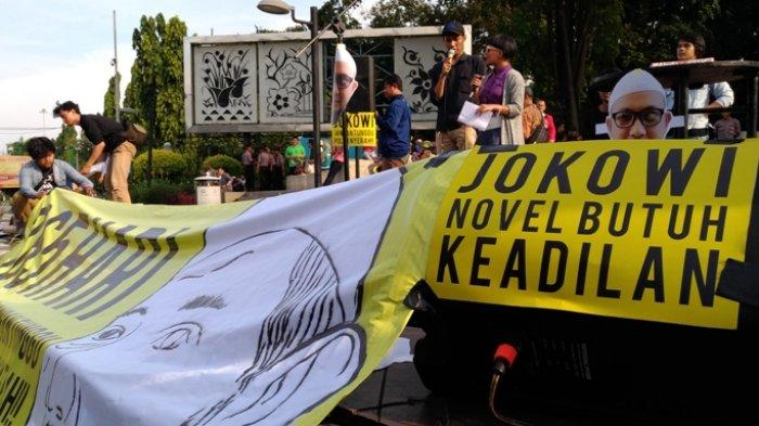 Petisi Tuntutan Pembentukan TGPF Kasus Novel Mencapai 100 Ribu Tanda Tangan