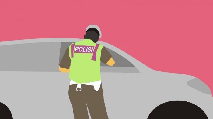 Polisi Tangkap Pengemudi Mobil yang Injak dan Ludahi Polantas di Flyover Kuningan