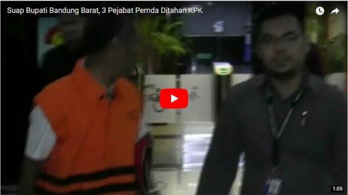 Suap Bupati Bandung Barat, 3 Pejabat Pemda Ditahan KPK