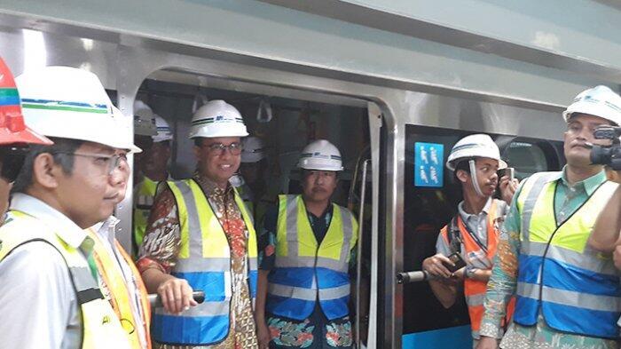 Anies Ingin MRT Bisa Diminati Dari Berbagai Kalangan, Termasuk Petinggi Perusahaan