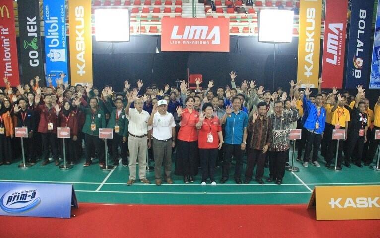 Gunakan Gedung Baru Grha Instiper, LIMA Badminton CJYC Yogyakarta Resmi Dimulai