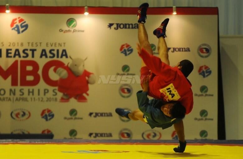 Pelatnas Sambo Fokus Fisik, Pelatih : Tes Event Sulit Jadi Patokan Asian Games 2018