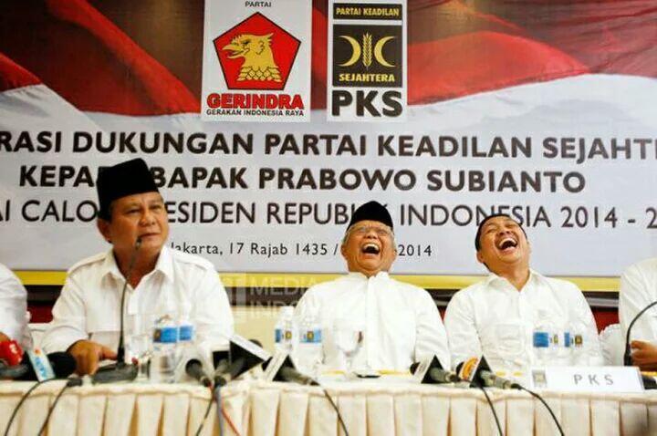 Dukung Prabowo, PKS Minta Posisi Cawapres ke Gerindra