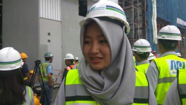 Ini Dia Paras Cantik Enam Masinis MRT Jakarta