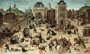 Pembantaian pada Hari Santo Bartolomeus - Tahun 1572