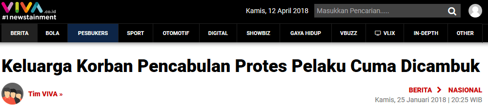Mekanik Cabuli Bocah Kakak-Beradik di Aceh