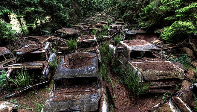 Tebak Gan, Fakta/Mitos 70 Tahun Lalu Pernah Ada Fenomena Kemacetan Terparah Di Dunia!