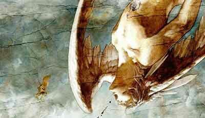 Mitos Polyp, Bangsa Bersayap Yang Konon Merupakan Pendahulu Manusia