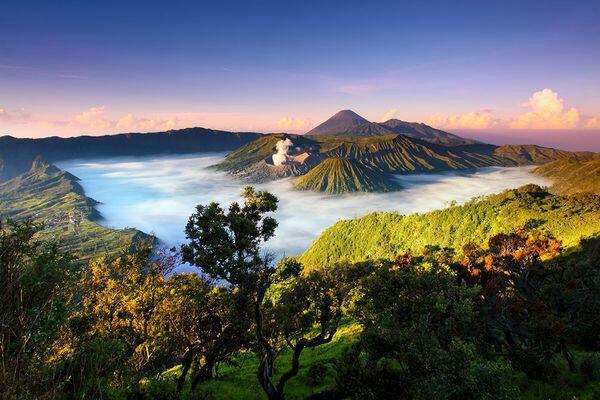 Empat Kaldera Top Indonesia Dan Dunia.
