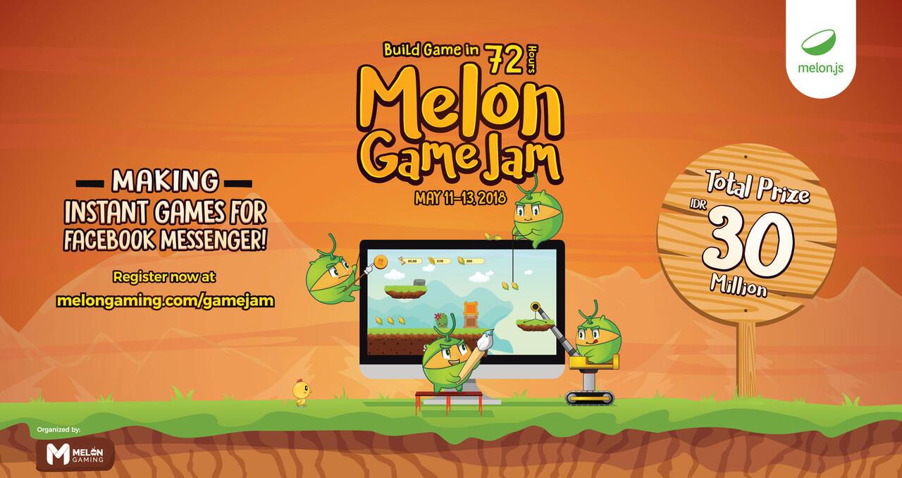 Ayo Ikutan Melon Game Jam dan Dapatkan Hadiah Jutaan Rupiah !