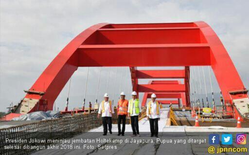 Jokowi Pastikan Holtekamp Pacu Perekonomian di Jayapura