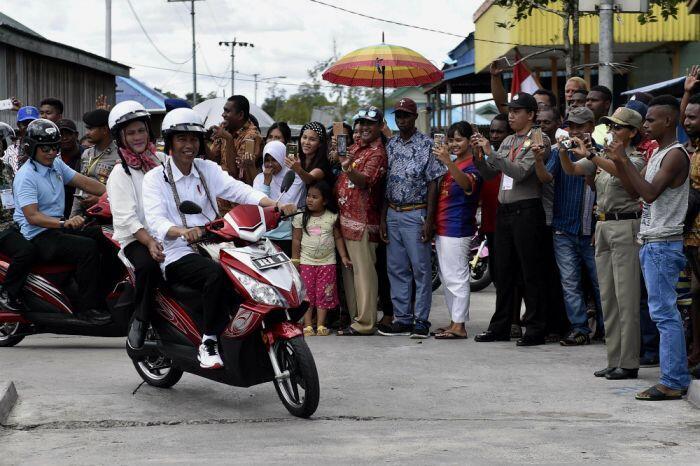 Upaya Jokowi bangun akses dan fasilitas air bersih di Asmat